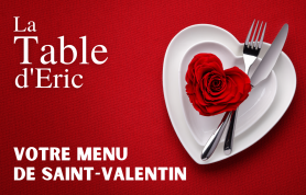 menu saint valentin 2021